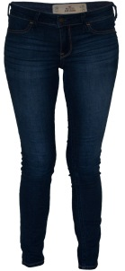 Dark Blue Jeggings from Hollister