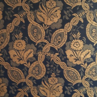 I love the wallpaper in the Opera House.
