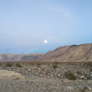 Saline Valley Death Valley Moonrise