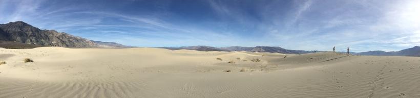 Saline Valley Death Valley Sand Dunea