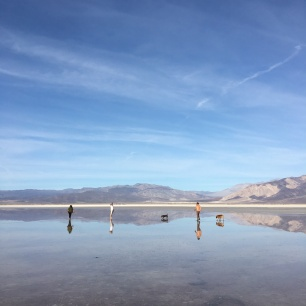 Saline Valley Death Valley Salt Flat Reflection