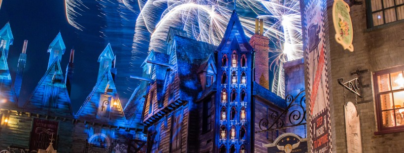 Wizarding World of Harry Potter via Flickr by Diana Kelly