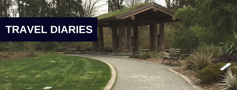 Travel Diaries Header Washington Park Arboretum Seattle