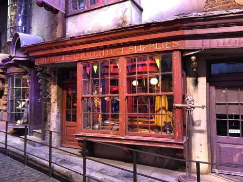Wizarding World of Harry Potter Quality Quidditch Supplies storefront