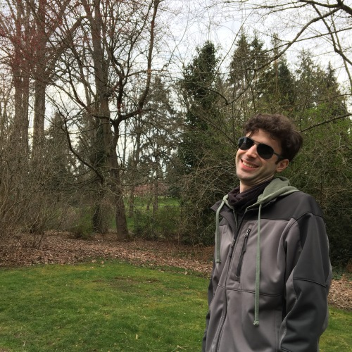 Steven at the Washington Park Arboretum in Seattle, WA.